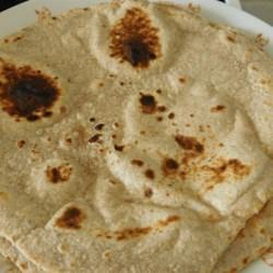 indian chapati bread printer friendly
