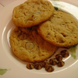 Old Fashioned Peanut Butter Chocolate Chip Cookies Recipe
