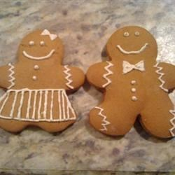Soft Gingerbread Cookies Recipe