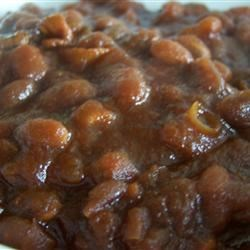 Slow Cooker Homemade Beans Recipe