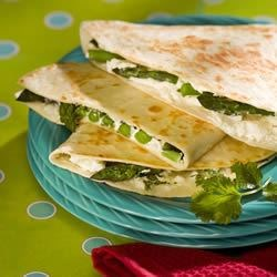 Image of Asparagus And Goat Cheese Quesadillas, AllRecipes