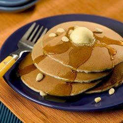 Blue Cornmeal Pancakes Recipe