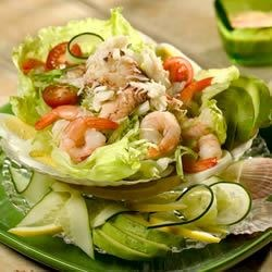 Crab and Shrimp Louis