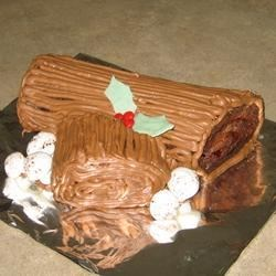 Chocolate Decadence Yule Log Recipe