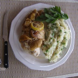 Fig and Lemon Chicken Recipe