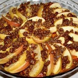 Sweet Potato Apple Scallop