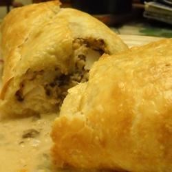 Fish Wellington