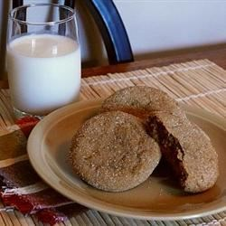 Big Soft Gingerbread Cookies