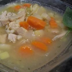 Jean's Homemade Chicken Noodle Soup Recipe