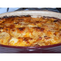 Stacey's Fabulous Purple Potato Gratin Recipe