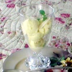Creamy Mango Sorbet Recipe