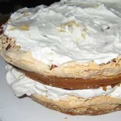 Pineapple Meringue Cake Recipe