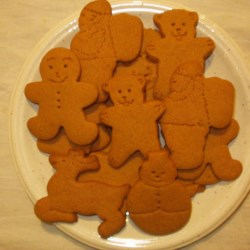Gingerbread Men Decorated Without Icing