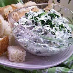 Photo of Spinach Dip with Water Chestnuts by WALNUT