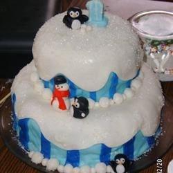 Sidney's First Birthday cake