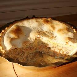 Photo of Salmon Pie I by Wilma Scott
