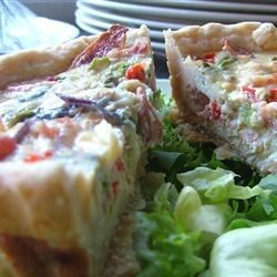 Cheesy Quiche Crust Recipe