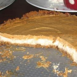 Double Layer Pumpkin Cheesecake (Thanksgiving 2009)