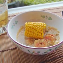 Photo of Chupe (Peruvian Shrimp Chowder) by Elise Roedenbeck