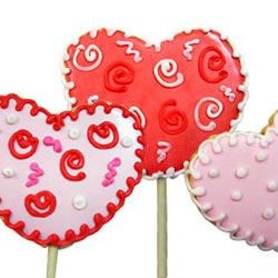 Photo of Lollipop Cookie Valentines by Robin