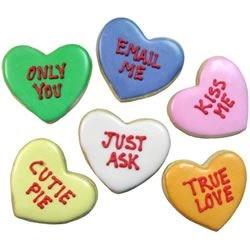"Sugarplums ""Candy Heart"" Cookies"
