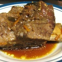 Stewed Korean Short Ribs (Kalbi Jim)