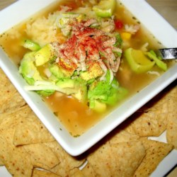 Zeke's Tortilla Soup Recipe