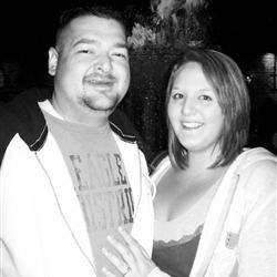 My fiance Jon and I - New Orleans