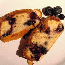 Sugar Free Blueberry Coffee Cake Recipe