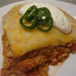 Photo of Vegetarian Burrito Casserole by BONF