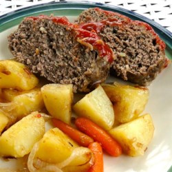 clay pot meatloaf and potatoes printer friendly