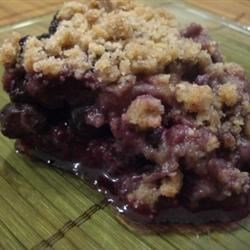 MaLizGa's Blueberry Crumb bars