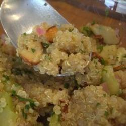MaLizGa's Lemony Quinoa