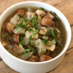 Mushroom Bok Choy Soup