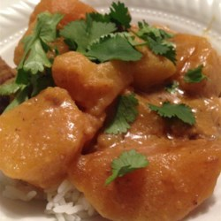 Slow Cooker Mussaman Curry