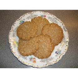 Margie's Shortbread Oatmeal Cookies Recipe