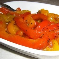 Roasted Peppers in Oil (Peperoni Arrostiti Sotto Olio) Recipe