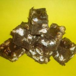 Chocolate Marshmallow Graham Bars