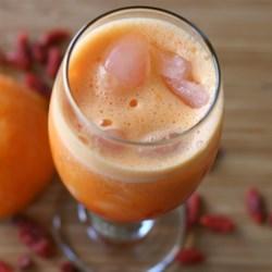 Orange Juice Goji Berries Smoothie