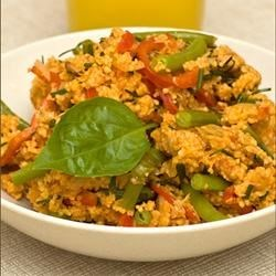 Photo of Vegan Tomato Spiced Couscous Salad by Tatiana