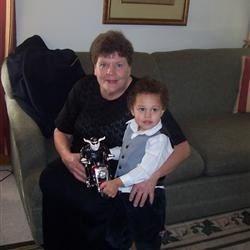 Judy and Great Grandson, Kolbin