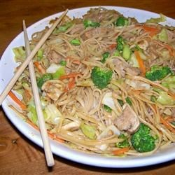 Healthy Pork Lo Mein