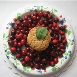 Image of Apple-Filled Cranberry Muffins, AllRecipes