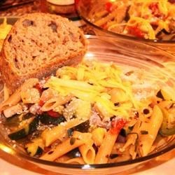 Pasta Primavera with Smoked Gouda Recipe