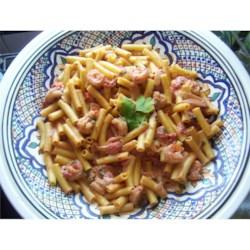 KimW's Creamy Tomato Basil Garlic Shrimp