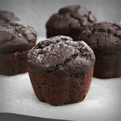 Gluten-Free Dark Chocolate Cupcakes