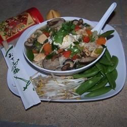 Photo of Asian Chicken Noodle Soup by Beverly