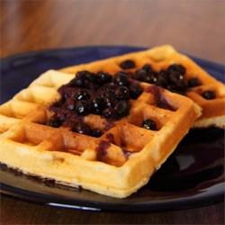 great easy waffles printer friendly