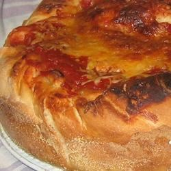 Double Crust Stuffed Pizza