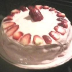 Photo of Strawberry Cake with Cream Cheese Frosting by Brooke Jefferson